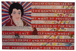 <i>Flag</i> Howard Finster, 1995?