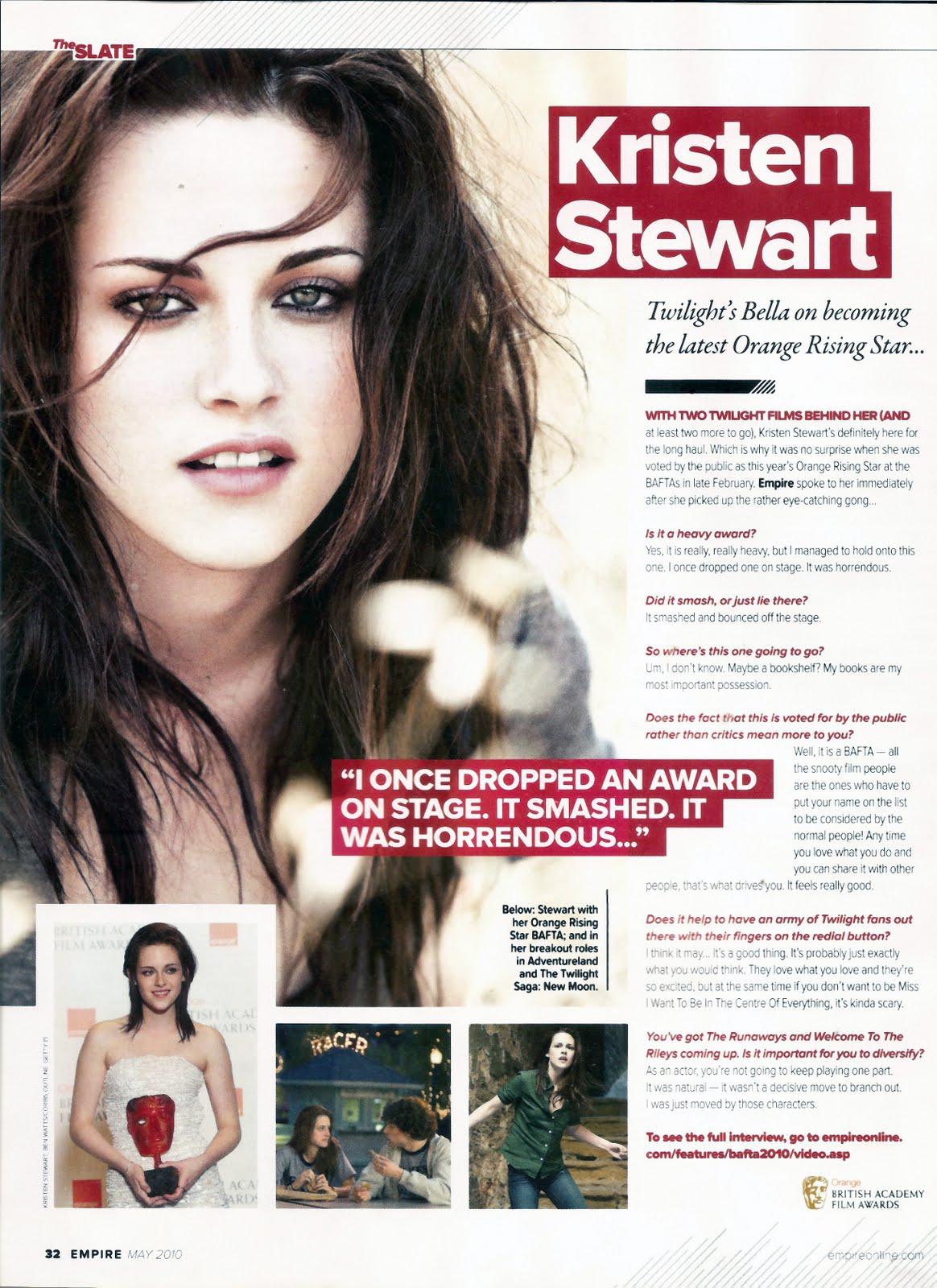 Kristen stewart esquire