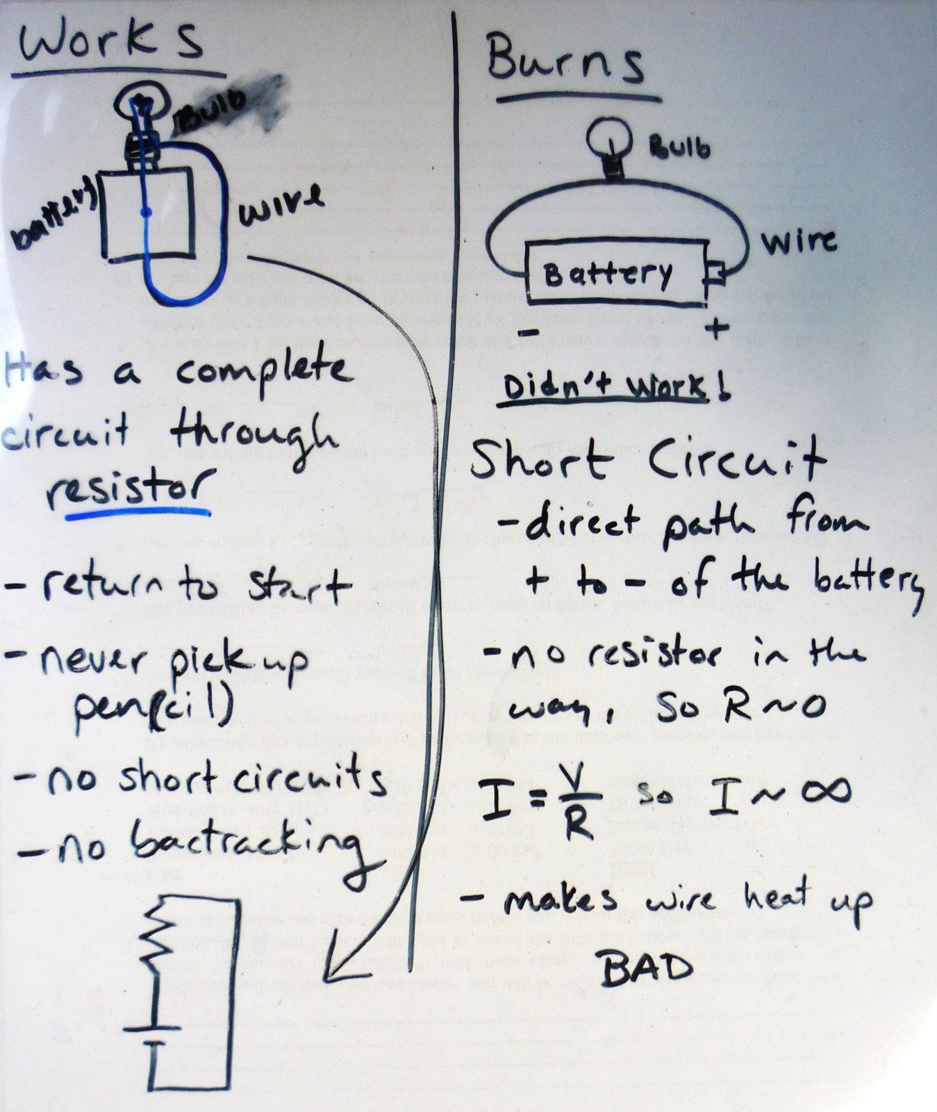 Physics At Desert View High School Circuit Lab Debrief And Circuitlab Resistors In Series Parallel Diagrams