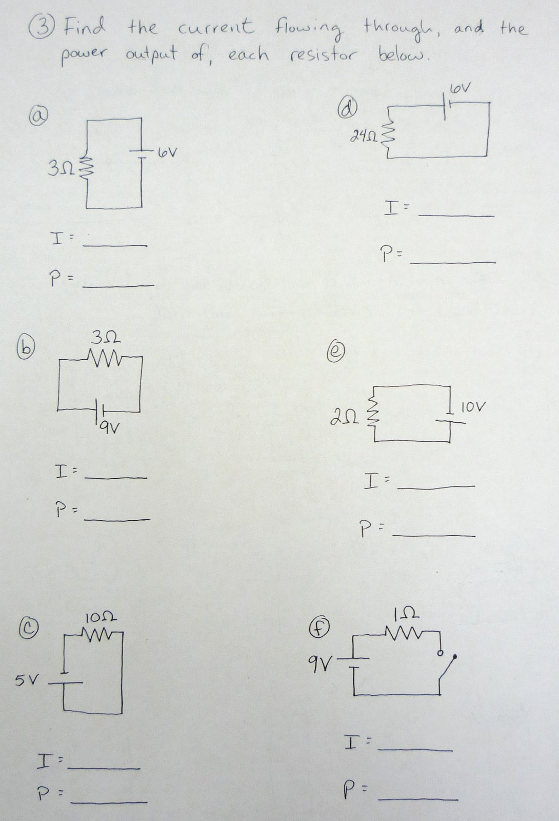 Physics At Desert View High School Circuit Lab Debrief And Diagrams Photos Notes Homework Electricity Iii