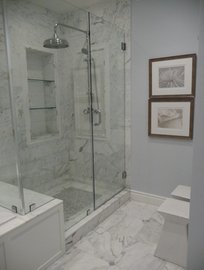 NA ESTANTE design Nichos no banheiro -> Nicho Para Banheiro Pronto