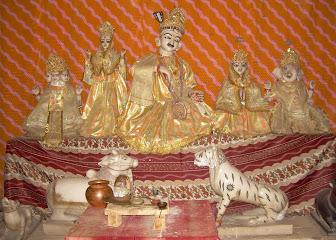 अनूठे हैं रघुनाथ मंदिर महणसर के भोलेनाथ