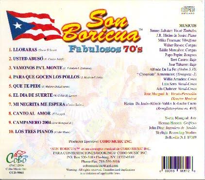 Son Boricua Ano 2004 Fabulosos 70s in addition Son Boricua Ano 2004 Fabulosos 70s in addition  on son boricua fabulosos 70s