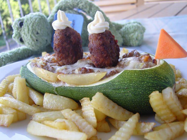 Zucchini-Dampfer