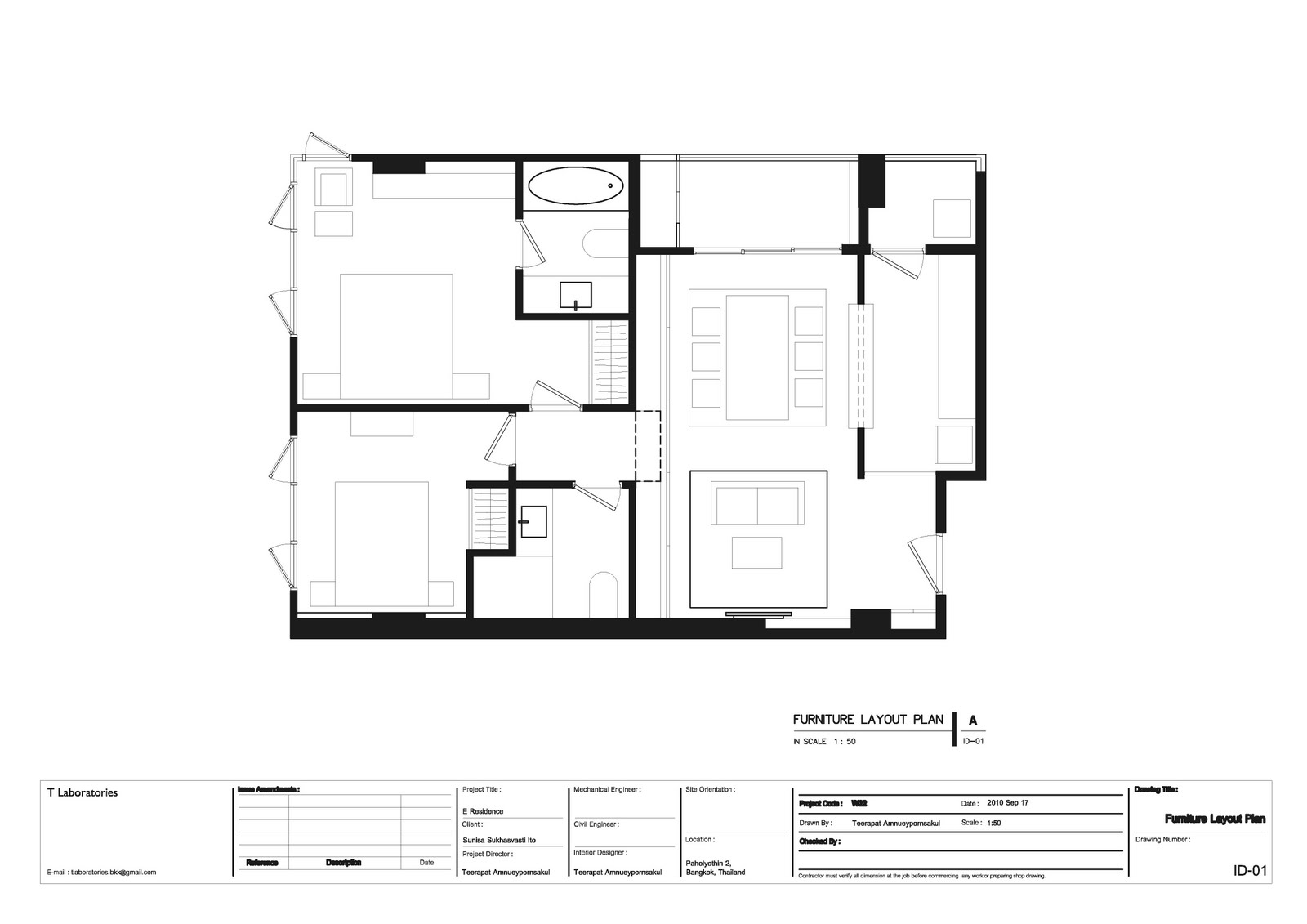 Furniture Layout Plan Building Drawing Tools Design