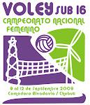 Torneo Argentino Sub 16 de Voley