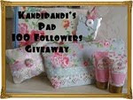 Kandipandi has a fab giveaway ends 28 June
