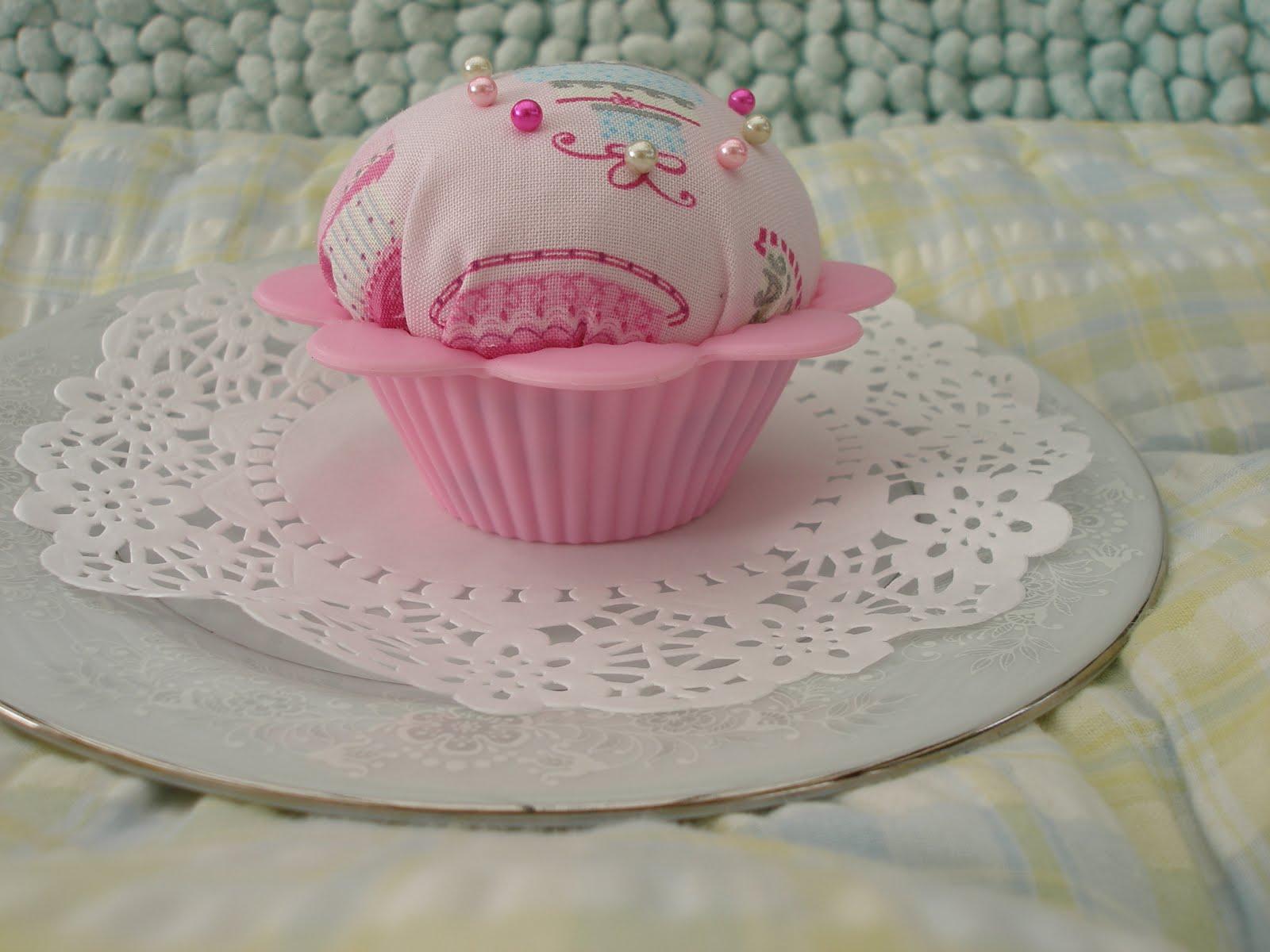 Kay S Stitches Cupcake Birthday Cake Pin Cushion