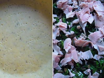 Tarta de Espinacas