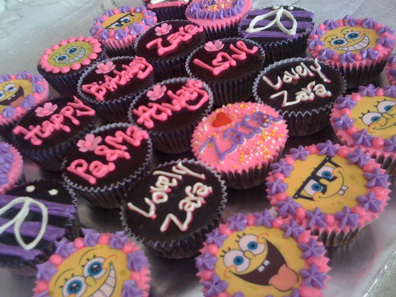 MyPrincessCupcake Happy Birthday Zara PaMa Always Love You