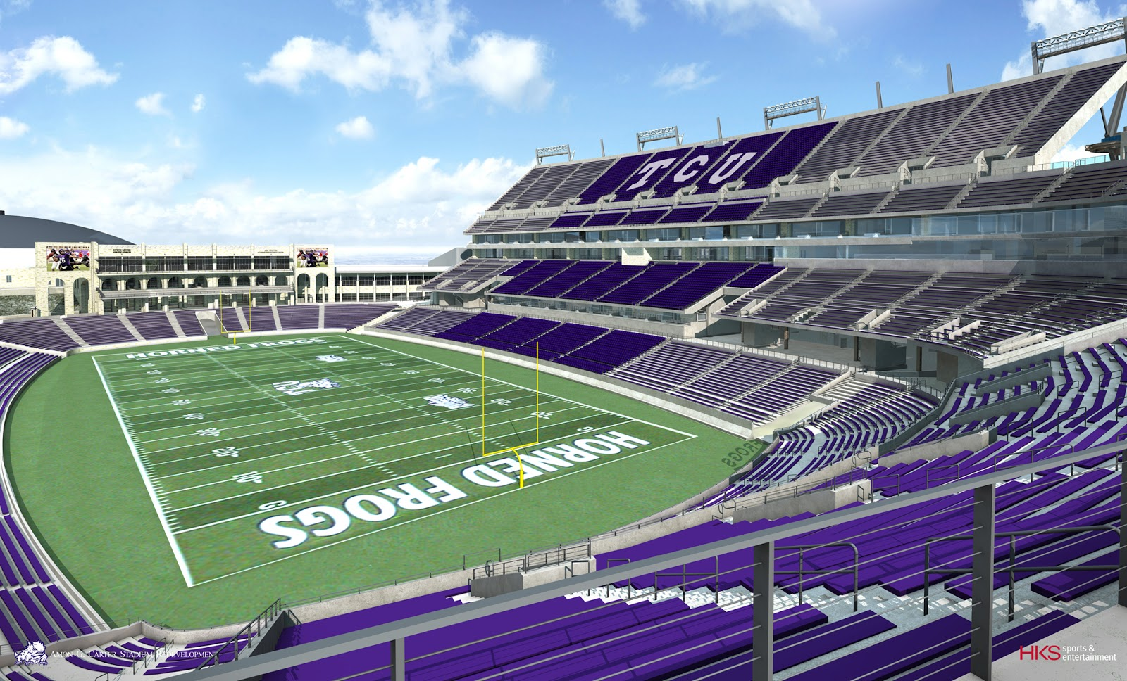 new tcu stadium seating chart: New tcu stadium seating chart amon g carter stadium seating