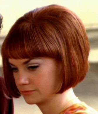The hairstyles of the 1960s were in transition from the big hair of the
