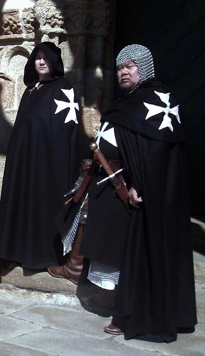 les noirs manteaux (Pont Croix )