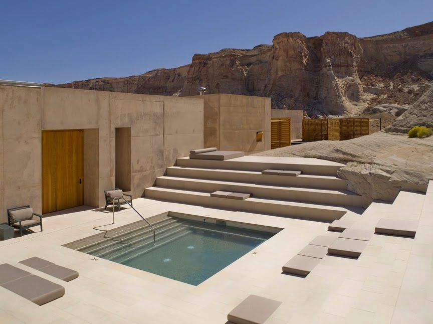 The style saloniste amangiri days of heaven for Pool design utah