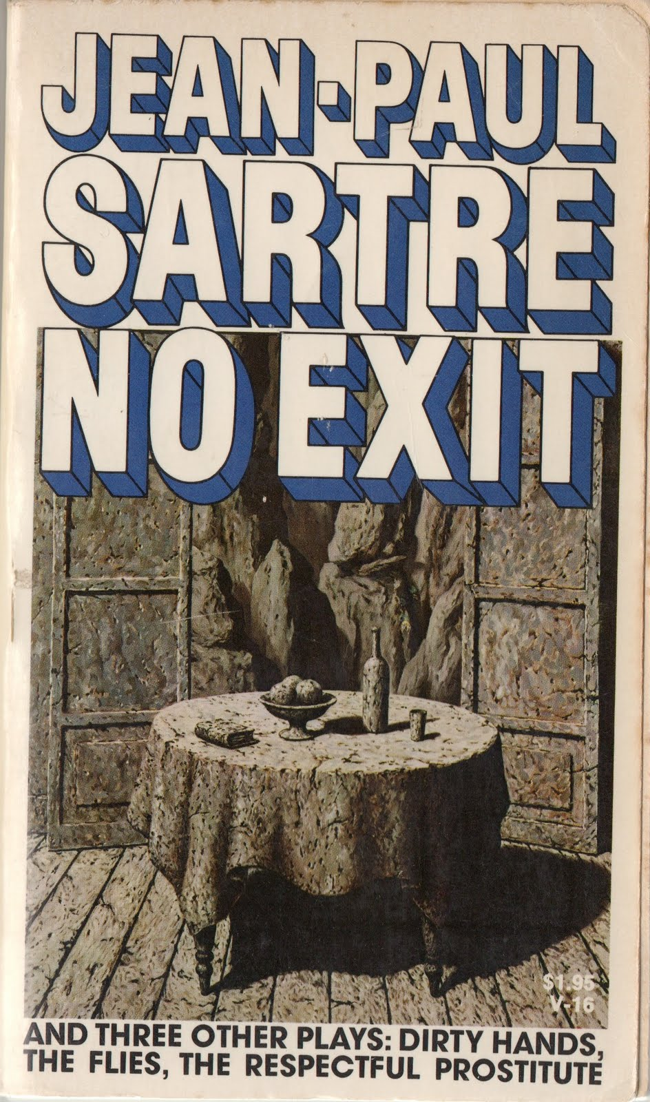 existentialism in no exit Struggling with themes such as philosophical viewpoints: existentialism in jean- paul sartre's no exit we've got the quick and easy lowdown on it here.