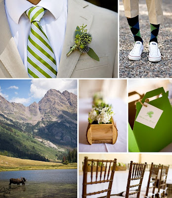 There were so many amazing pictures of rustic weddings from places likes