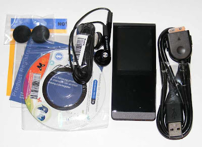 samsung yp t10. also included was a charging cable, earbuds, earbud covers, and three pieces of paper. there quick start guide, registration notice, warning samsung yp t10