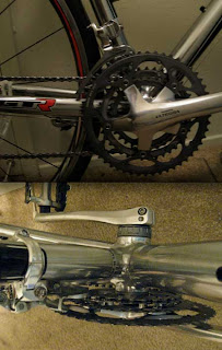 The new Ultegra front drivetrain