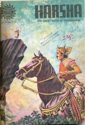 harsha history