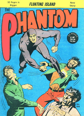 3 x Frew Phantom comics from 2007. 1473, 1479 and 1486. Very Good