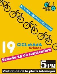 19° cicletada