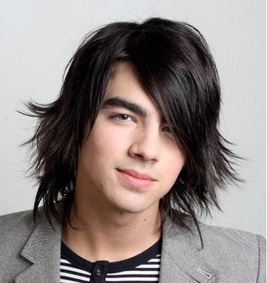 Trendy New hairstyles for men I love his long straight hairstyle,
