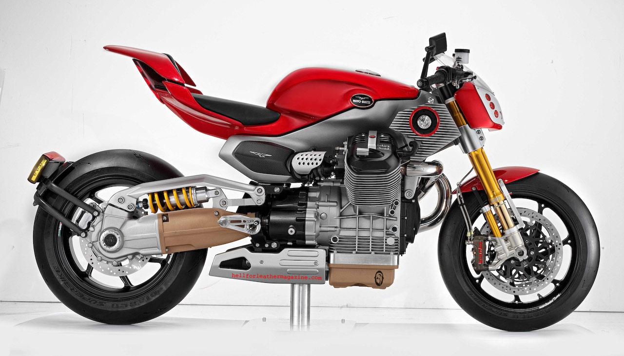 Actualidad Automotriz Moto Guzzi V12 Le Mans Concepto