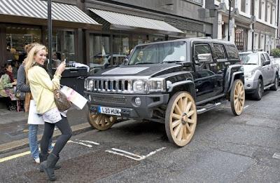 Авто тюнинг колёс хаммера