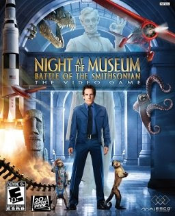 night at the museum, battle of the smithsonian, video game