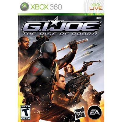 G.I. Joe, rise of cobra, xbox 360, video, game
