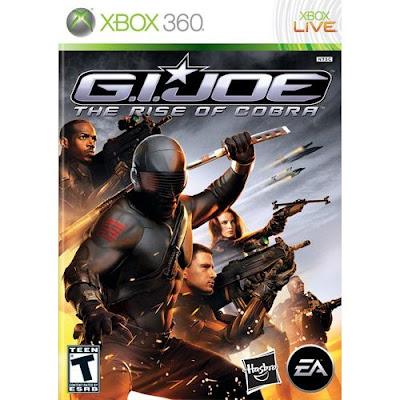G.I. Joe, rise of cobra, xbox 360, video, game