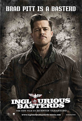 Inglourious Basterds, brad pitt, movie
