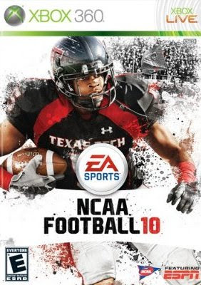 Xbox 360, NCAA Football 10, video game