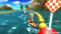 nintendo, Wii, sports resort, water race