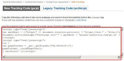 google analytics, tracking code, picture