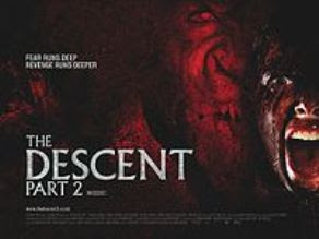 the descent, part 2, cover, poster, image, movie, film