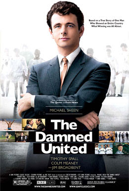 the damned united, movie, poster, cover, michael sheen