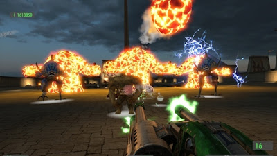 serious sam hd, xbox, pc, video, game. cover, poster, image