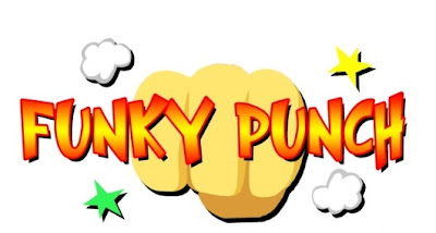 funky punch, psp, video, game, poster, cover, image