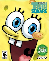 SpongeBob's Truth or Square, video, game, cover
