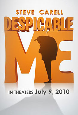 Despicable Me, movie, poster, dvd, cover