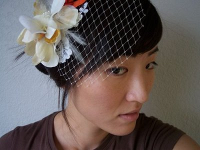 how to make your own birdcage veil