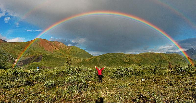 Obrigada!  Sinta o Arco-Iris símbolo da Ecologia Profunda da Alma