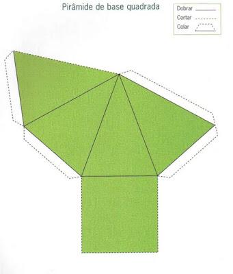 piramide Figuras Geométricas para crianças