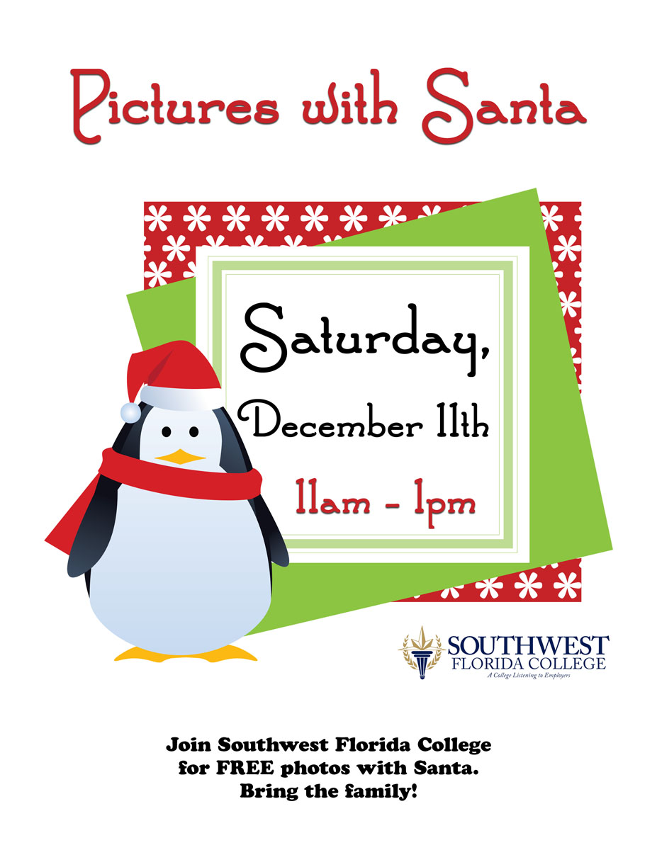 southwest florida college official blog pictures with santa