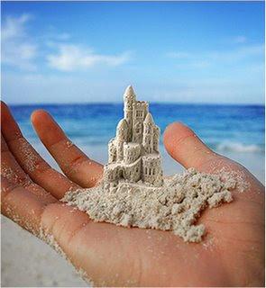 Belos castelos poderei erguer em meus sonhos