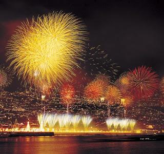 Um fogo de artifício que celebra a vida e a vontade de viver