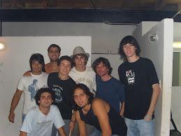 Con los amigos de La Rocka