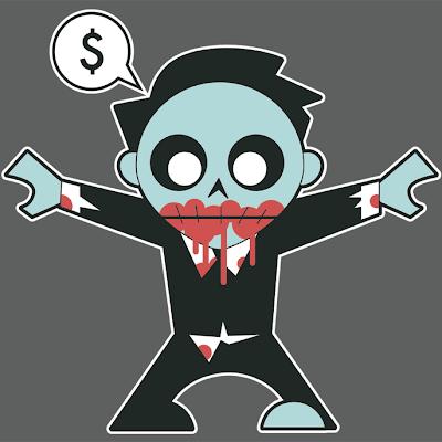Corporate Zombie © Nik Holmes