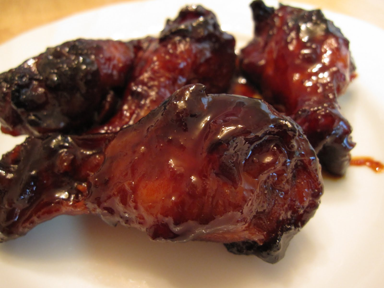 The Scratch Patch: Honey Chicken Wings